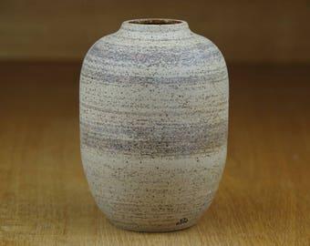 Small Ceramic Vase, Pottery Vase