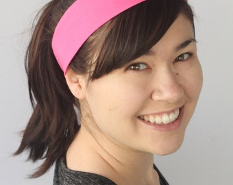 Pink Dolly Bow, Wire Headband, Usamimi Rabbit Ears, Twist Headband