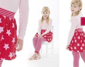 Minikrea pattern-girl balloon skirt 30103