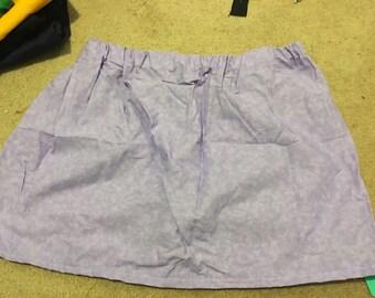 Textured Lilac skirt