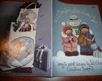 Vintage With Christmas Love In Our Hearts Painting Book