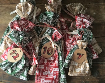 12 Days of Christmas Gift bags and tags