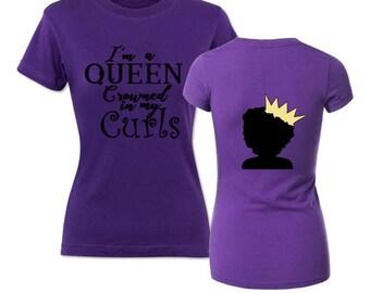 Queen Crowned in my Curls