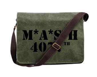 MASH 4077th Messenger bag, retro, classic, tv, classic, military