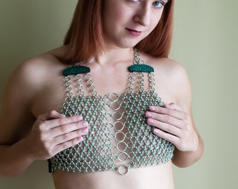 Chainmail Halter Top