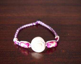 Sea shell Vs in pink/white bracelet For summer gift New Collection Arrived of august 2017/sea bracelet/boho/Hawaii/Bikini/handmade/Boho/Bohe