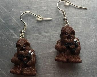 Star Wars  Chewbacca Earrings