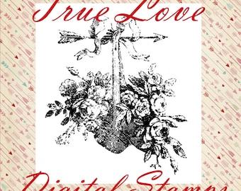 True Love Digital Stamp Set
