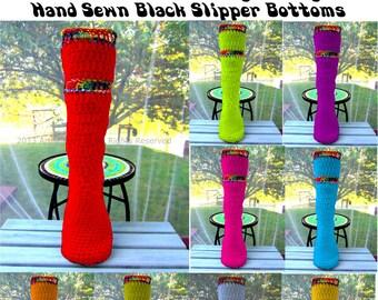 "Hippie Shoes Slipper Socks Hippie Socks 17"" Tall Mukluk Style Funky Hippie Clothes Boho Hippie Gypsy Festival Clothing Fairy Shoes Bohemian"