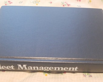 Fleet Management by John Dolce ** rare vintage 1980s fleet economics and maintenance guide