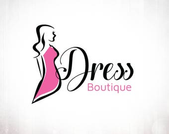 Premade Logo Design • Dress Boutique