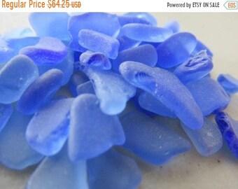 Sea Glass Sale Blue Beach Glass, Craft Quality Sea Glass, Genuine Seaglass, Bulk Sea Glass
