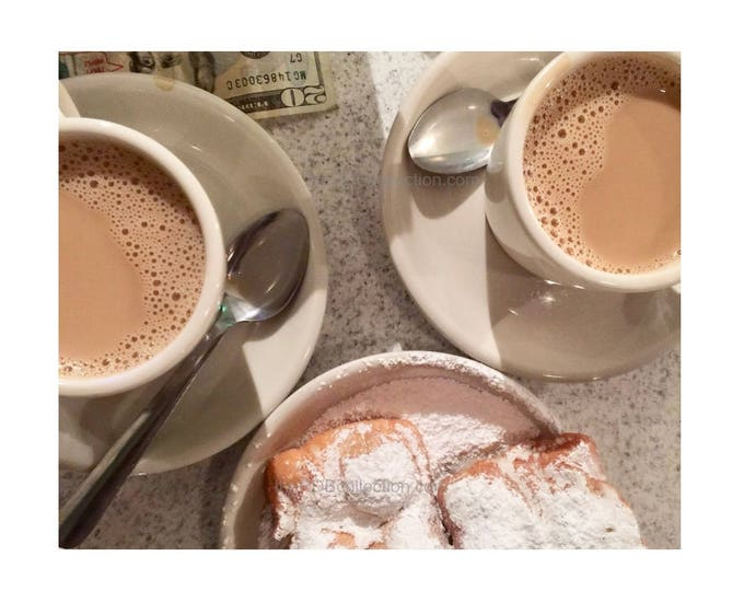 Beignets for Two Photograph