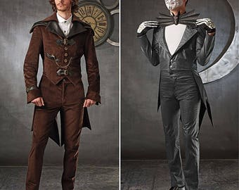 Simplicity Sewing Pattern 1039 Jack Skellington / Steampunk Costume Size 38-44