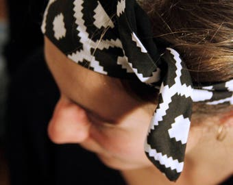 Handmade hairband * geometric *.