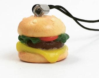 Burger Polymer Charm