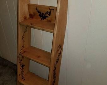 rose leaning shelf