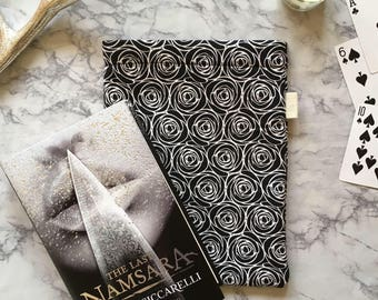 Roses Word Wrap Medium - Black and White and Read All Over