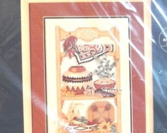 Vintage Sunset Counted Cross Stitch Kit 13567 NIP - Southwest Collection 1993