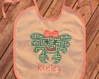Cute Crab bib