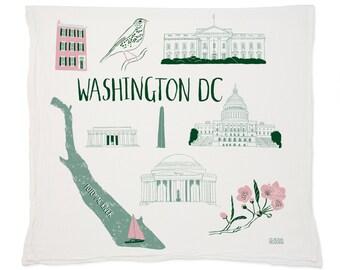 Washington Tea Towel