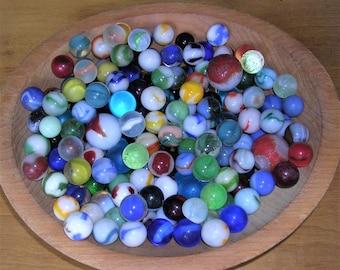 Vintage Marbles Lot of 25 Vintage Marbles