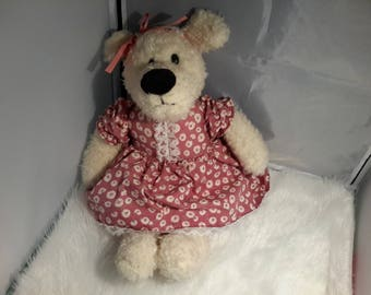 Teddy girl for decoration or toy dog