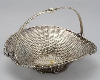 Beautiful Silverplate Bread basket - WMF