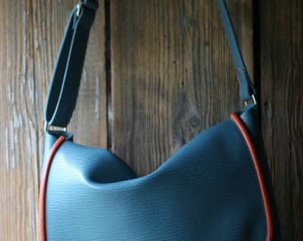 leather bag designed and made in Britain