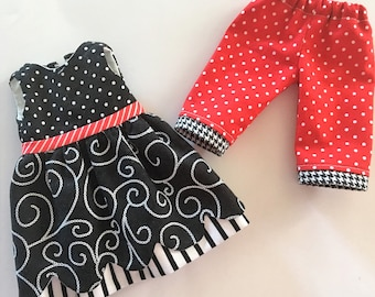 Dress and Capri PATTERN for Wellie Wisher Dolls