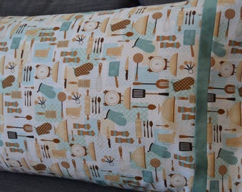 Cooking Utensils Pillowcase