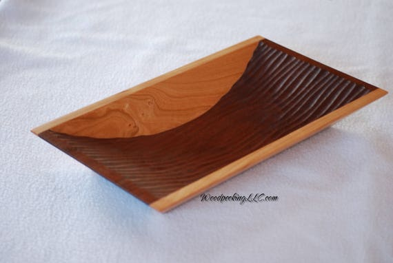 wooden serving dishes candy bowl wooden valet tray