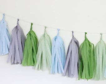 Tissue Paper Tassel Garland Kit- Blooming
