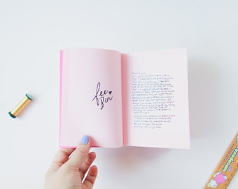 Dear Ben, Dear Fee - Love Zine