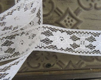 Roll of 20 m of lace romantica scalloped 30mm