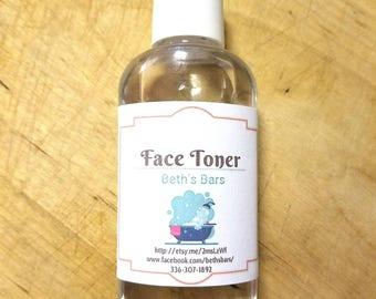 2oz FACIAL TONER for ALL Skin Types