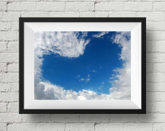 """Heart shape cloud 