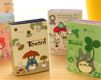 6Fold Totoro Sticky Note—Sticky Notes, Stick Note, Notepad, My Neighbor Totoro,Sticky Memo