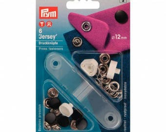 6 snaps river + jersey black 12 mm Prym tool