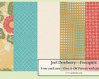 Joel Dewberry - Five Yard Fabric Bundle