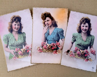 Antique postcards