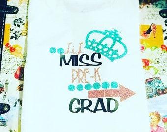 Lil Miss Grad Tee
