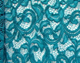 Antique Paisley Pattern Stretch Lace (4 Way Stretch Lace) | Multiple Colours