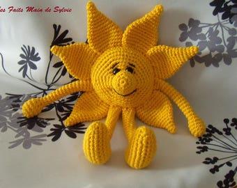 Mr. Sun crochet