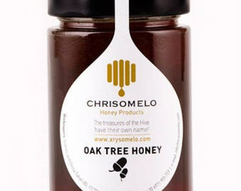 "Oak Honey 480g ""CHRISOMELO"" Greek honey"