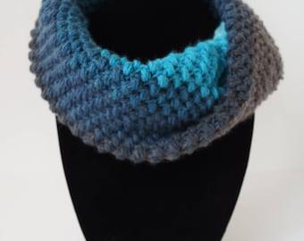 Spring Bean Cowl, Infinity Scarf, Crochet Cowl, Women's Scarf, Winter Scarf, Crochet Scarf, Mandala Scarf, Lightweight Cowl, Warm Scarf,