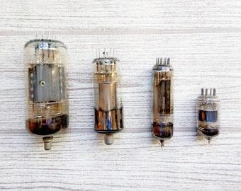 Vintage electronic parts Steampunk supplies Vacuum tube radio for craft steampunk Radio valve tube amplifier Radio parts vintage electronics