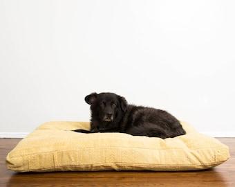Honeycomb Mudcloth Dog Bed // Medium