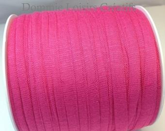 Ball of Trapillo cotton hot pink lycra