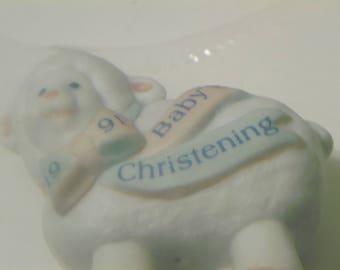 1991 Hallmark Keepsake/ Babys Christening- Porcelain